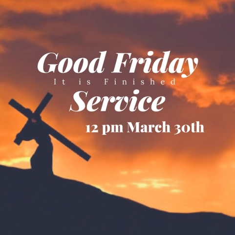 Good Friday Service 2018